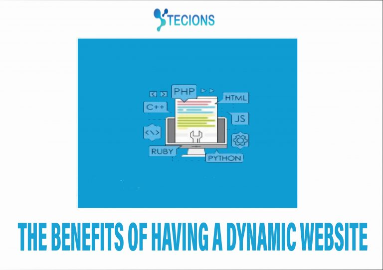 What are the benefits of having a dynamic website?