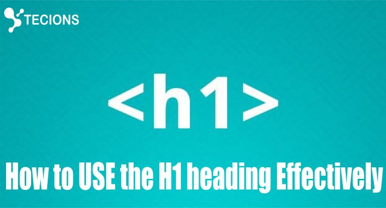 How to use proper H1 tags for better SEO results?